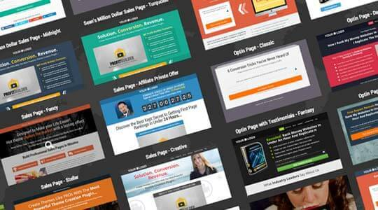 templates - WP Profit Builder 2.0 Review - Landing Page Creation Never Been Easily